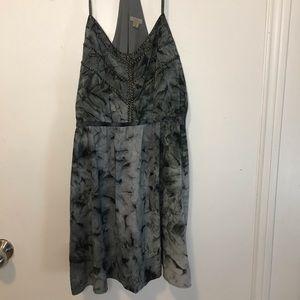 NWOT Ecoté Two Tone Tie Dye Dress